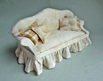 BEIGE CAMEL BACK SOFA