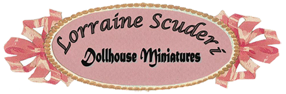Welcome to LORRAINE SCUDERI DOLLHOUSE MINIATURES -Interior design
