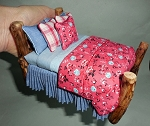 BLUE DENIM ADIRONDACK BED