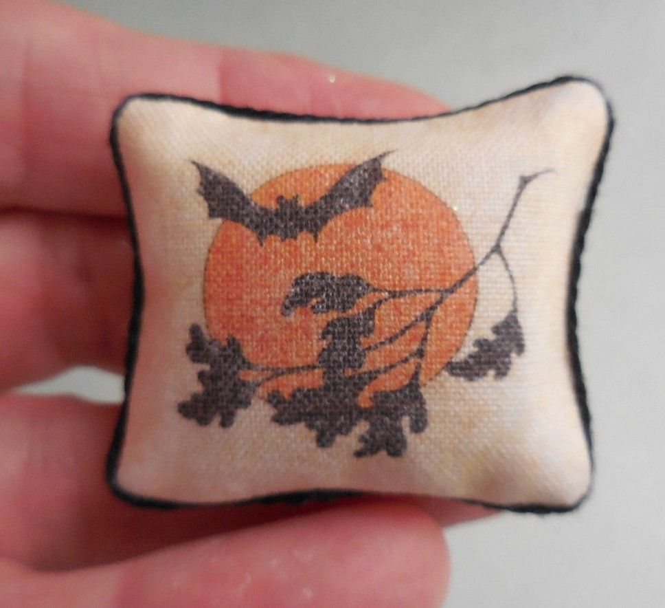 MOON & BAT PILLOW