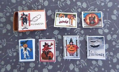HALLOWEEN GREETING CARDS KIT IN BOX