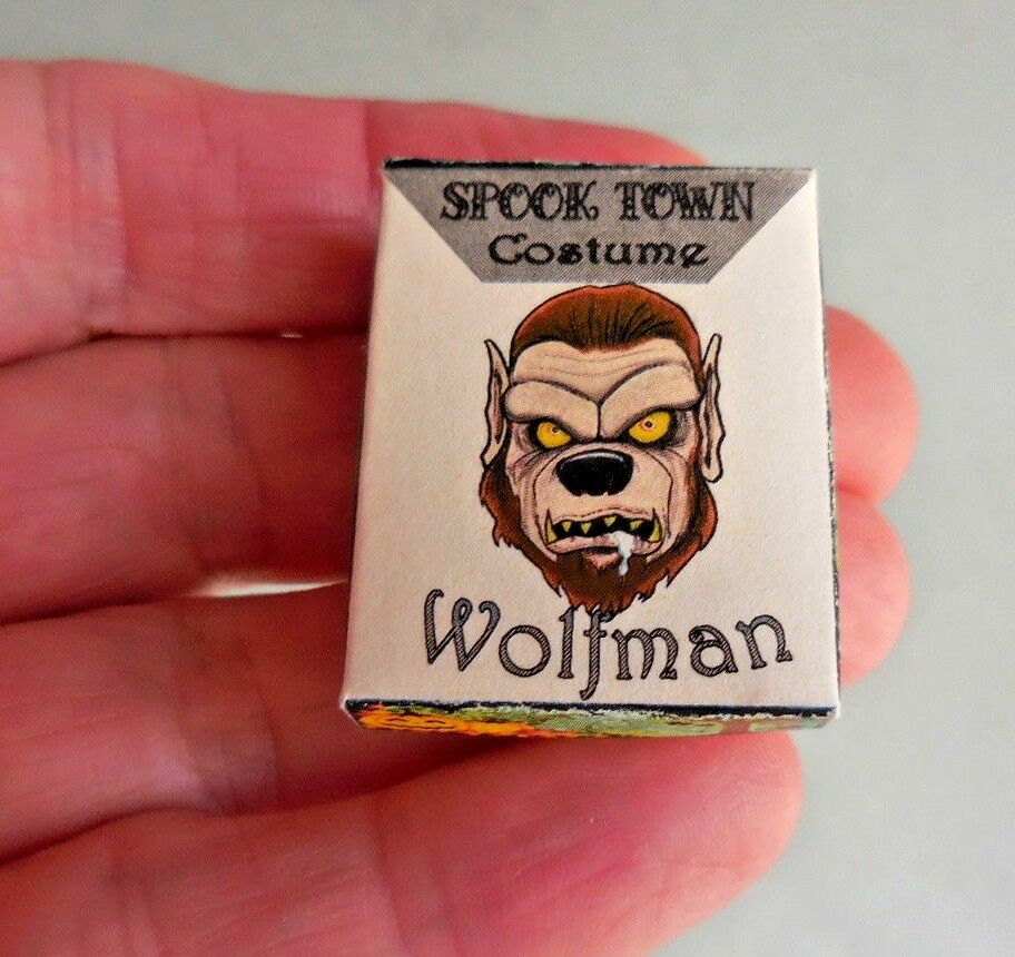 WOLF MAN COSTUME BOX