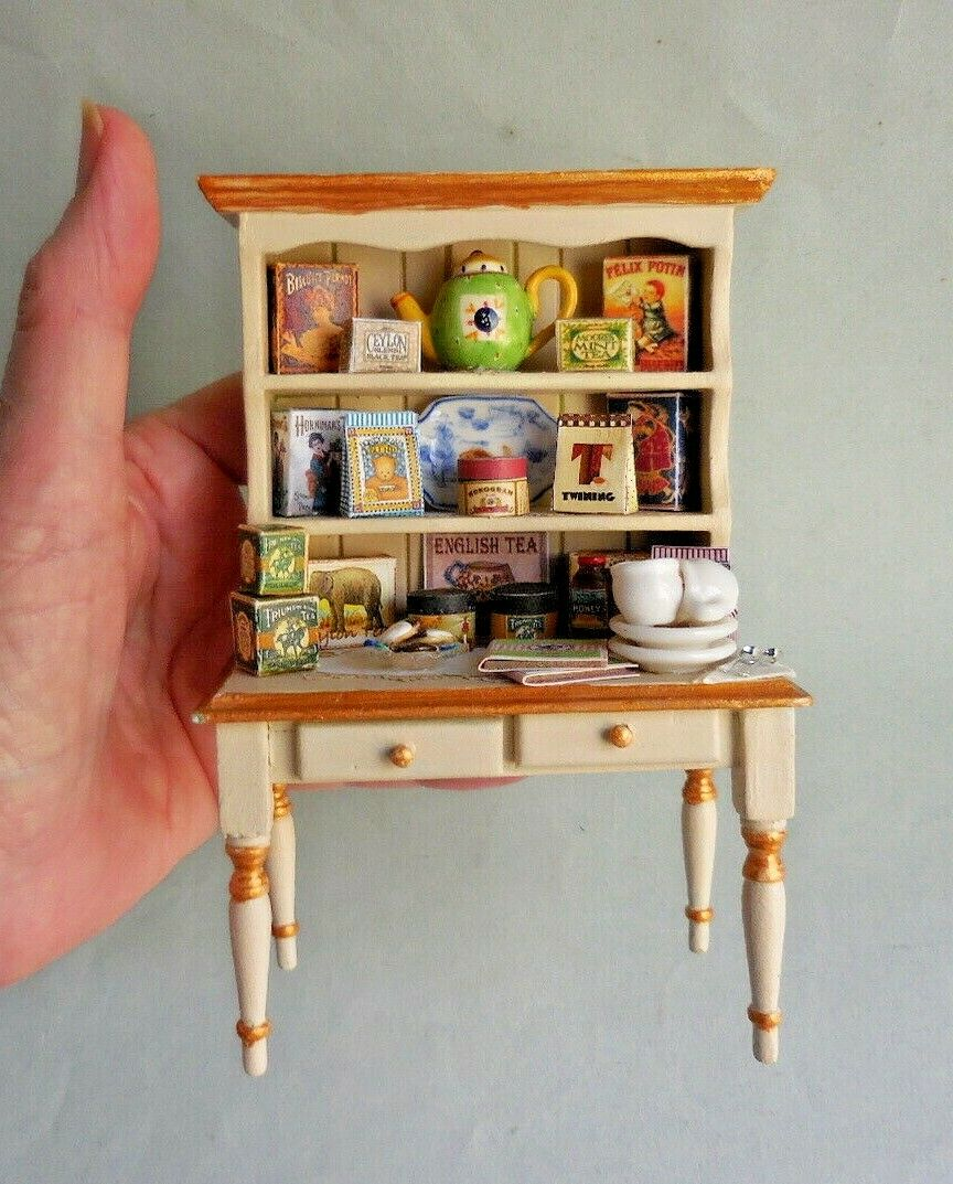 TEA HUTCH ~ PAINTED