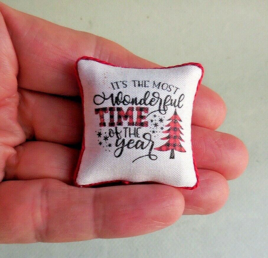 WONDERFUL TIME OF THE YEAR PILLOW