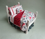 NIGHT BEFORE CHRISTMAS LOG BED