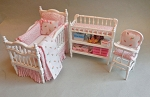 PRETTY IN PINK CRIB SET