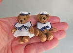 SAILOR BOY & GIRL TEDDY BEARS