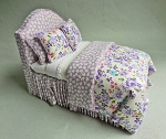 LAVENDER PASSION TWIN BED