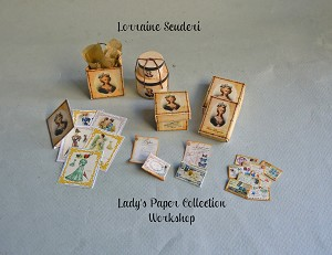 LADY'S FRENCH PAPER COLLECTION