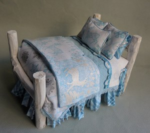 WINTER WONDERLAND SHABBY CHIC BED