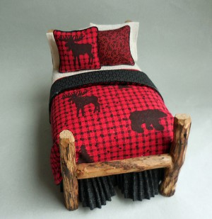 MOOSE TWIG TWIN BED