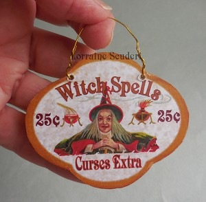 WITCH'S SPELL SIGN
