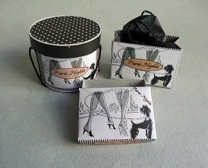 PARIS NIGHTS  HATBOX SET