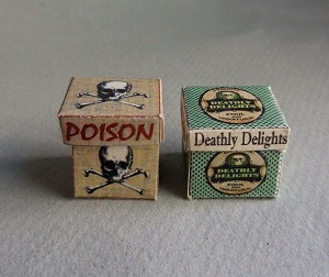 POISON AND DEATHLY DELIGHTS BOXES