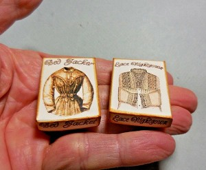 LADY'S NIGHTGOWN & BED JACKET BOXES